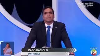 CABO DACIOLO profetiza sua Vitória no sbt .