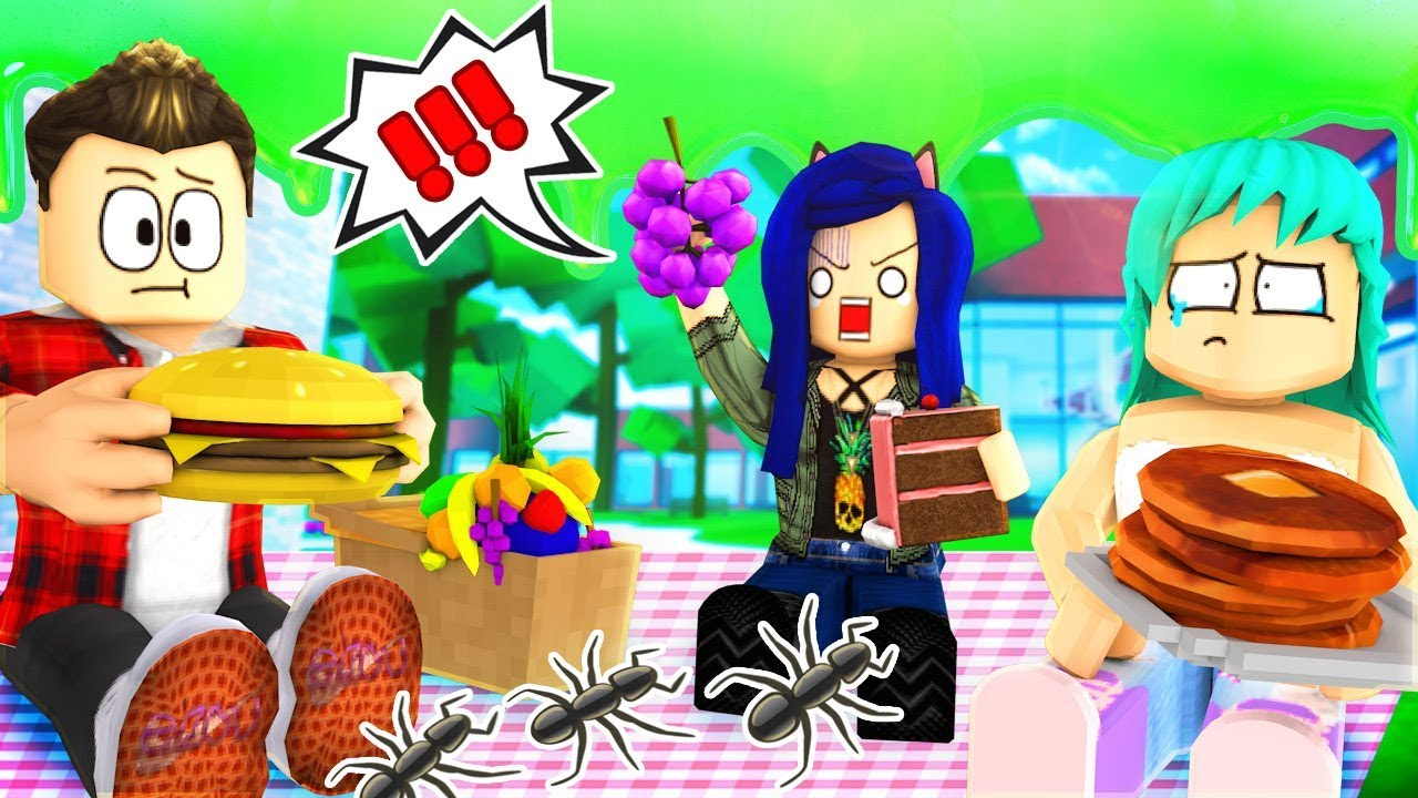WORST PICNIC IN HISTORY!! THE BUGS STEAL OUR FOOD! (Roblox Ripull Minigames)