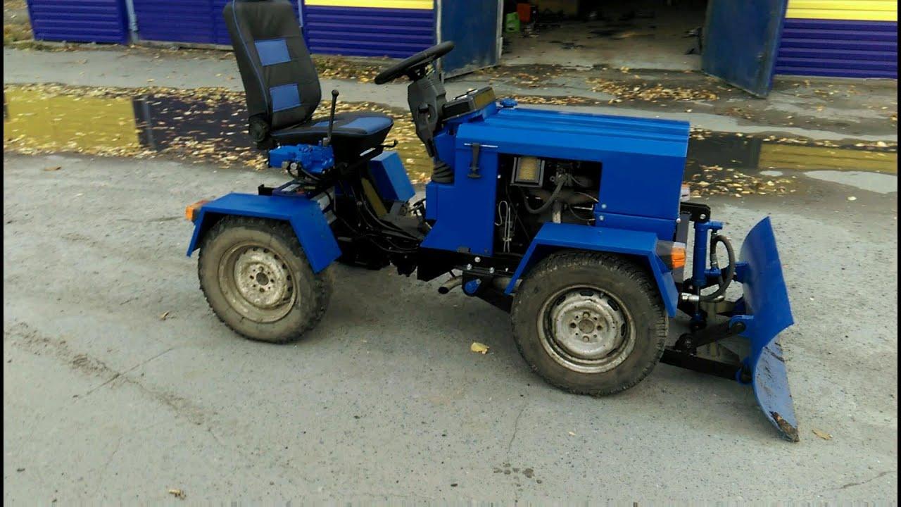 Самодельный трактор переломка чертежи