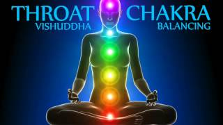 Activating Qi Flow of Throat Chakra Meditation (Fifth Chakra)