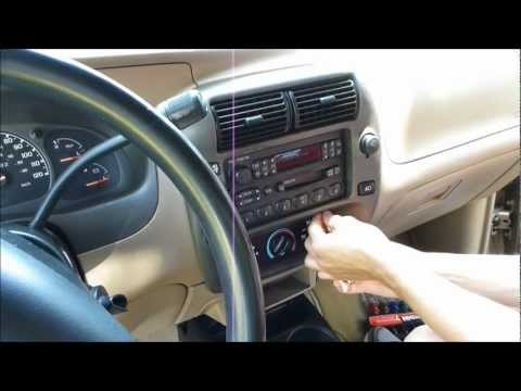 How to change the radio in a Mazda B3000 and Ford Ranger
