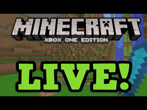 Minecraft Xbox One: LIVE Gameplay + Multiplayer