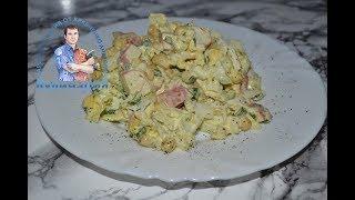 Вкусный салат с пекинской капустой и крабовыми палочками