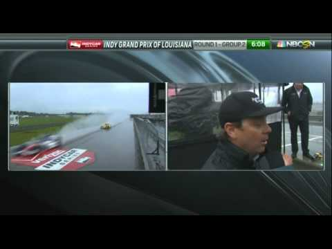 Jimmy Vasser Angry after Bourdais Penalty