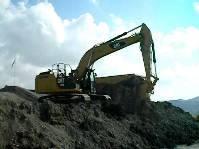 Excavadora de cadenas Caterpillar 329E