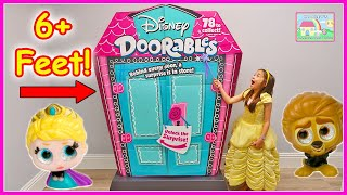 Princess Belle and Biggest Disney Toys Surprise Box Opening Full of Doorables Toy Surprises