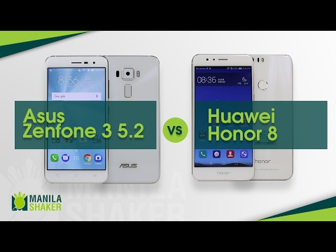 Huawei Honor 8 vs Asus Zenfone 3 5.2