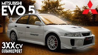 "Mitsubishi Lancer Evolution 5 ""3xx CV"" Cubano Motorsport *Uma Lenda!* | AllSpeedDrive"