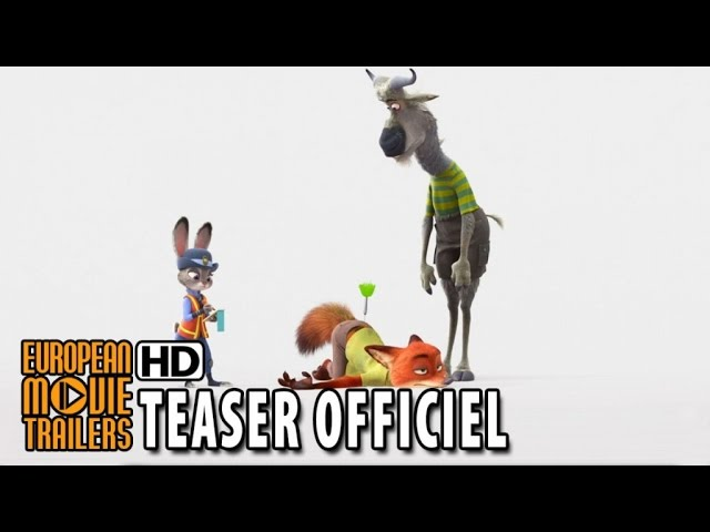 Zootopie Bande Annonce teaser officiel (2016) - Disney Animation HD