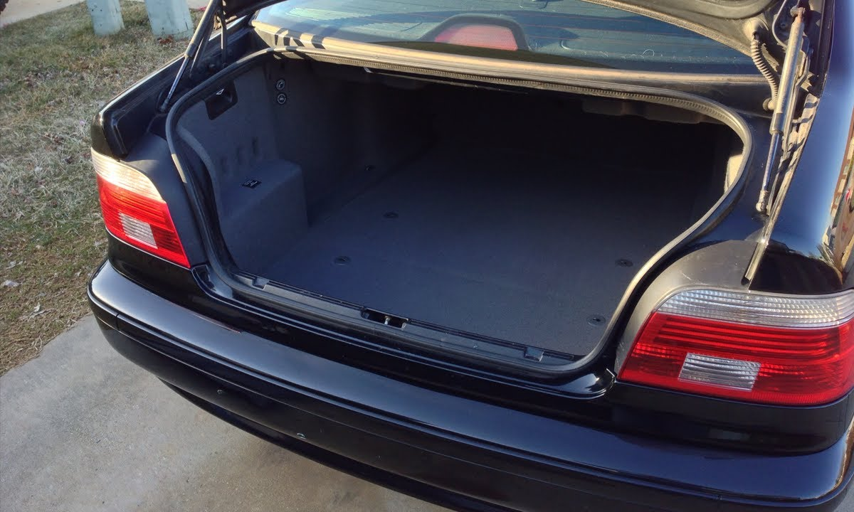 Bmw E39 Trunk Carpet Replacement Diy Youtube