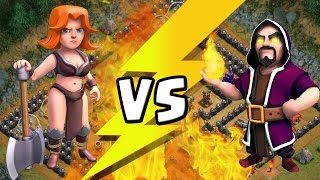 MAGIER VS WALKÜRE! || CLASH OF CLANS || Let