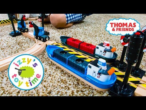 Thomas and Friends | DOUBLE BRIO CARGO SHIPS! Fun Toy Trains with Kids | Videos for Children