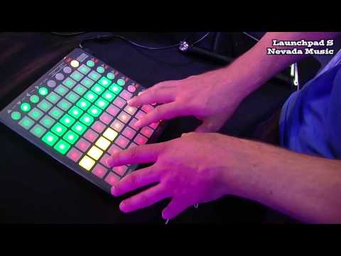 Novation Launchpad S Ableton Demo @ PMT