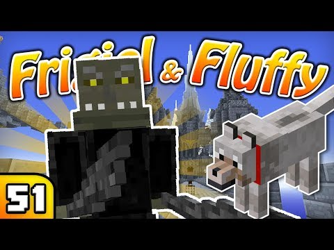FRIGIEL & FLUFFY : LE CHÂTEAU DES ORCS | Minecraft - S5 Ep.51 thumbnail
