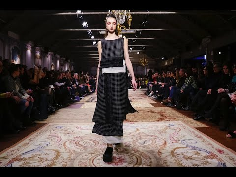 Antonio Marras F/W 2015. Daria Shapovalova at Milan Fashion Week