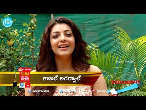 Kajal Agarwal Byte  Siima 2014 Awards video