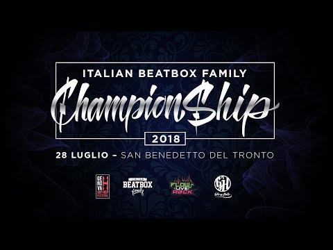 Rich VS Frank Venus  Quarter Final  Italian Beatbox Championship 2018