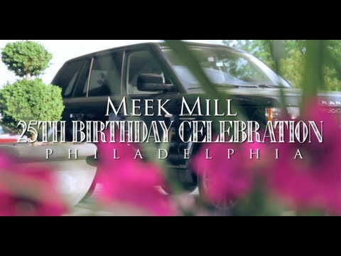 Meek Mill 25th Birthday Celebration in Philadelphia! + Range Rover Birthday Gift From Rick Ross (Official Vlog)