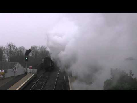 70013 Oliver Cromwell In The Mist