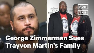 George Zimmerman Is Suing Trayvon Martin's Family for $100M | NowThis