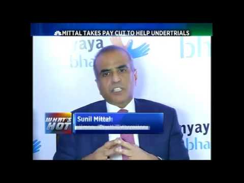 Sunil Mittal Takes Pay Cut To Help Undertrials