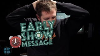 Download Lagu It's Humpday on the Early Show Message Gratis STAFABAND