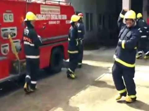 Running Man Challenge - Surigao City Central Fire Station(Shift B Personnel)-CARAGA