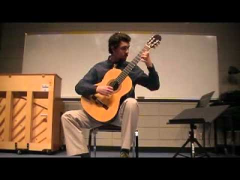 Steven Fry performing Etude 26-Ferdinando Carulli at UTB/TSC