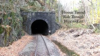 Hoosac Tunnel Ride Through  - W to E - Infrared Footage - Best known Hoosac Footage, very rare!