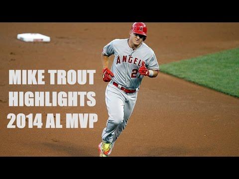 Mike Trout 2014 AL MVP