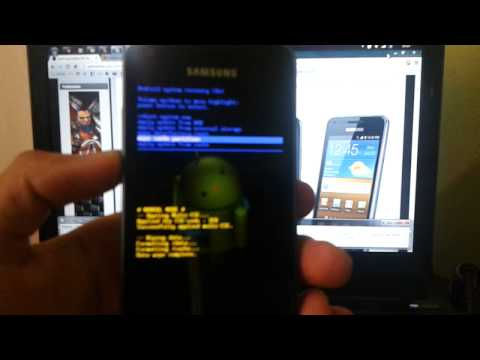 Instalando o Jelly Bean 4.1.2 no Galaxy S2 lite i9070 parte 1/2