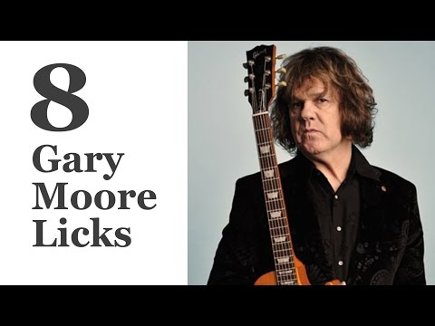 8 Gary Moore Licks - Guitar Lesson With Tabs
