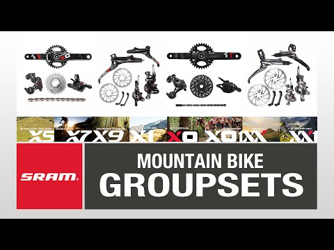 SRAM mountain bike groupset guide