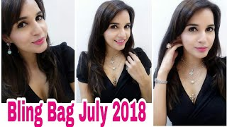 Bling Bag July 2018 | Classic Essentials Edition | Code & Discount | Unboxing & Try On Review |