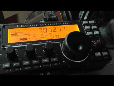 SETTINGS FOR CW DECODE ELECRAFT KX3