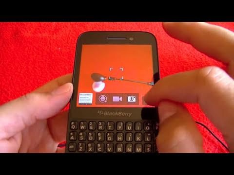 BlackBerry Q5 análisis: Vistazo General y Sistema operativo