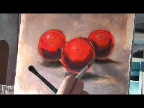 Oil Painting Tutorial: Painting with Freedom