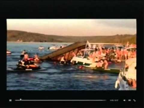 Video de cinegrafista amador mostra acidente com uma balsa na represa de Miranda