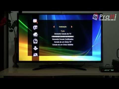 Review Tutorial Atualização Configuração Az América S1005 HD - Dicas Pratti Store