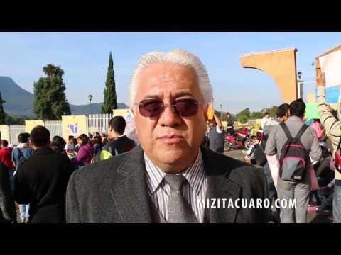 Estudiantes del TEC de Zitácuaro Exigen pago de becas PRONABES