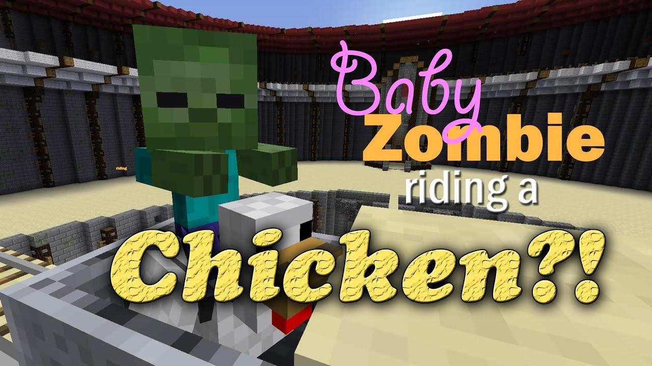 Chicken Minecraft Minecraft Zombie Chicken Aka