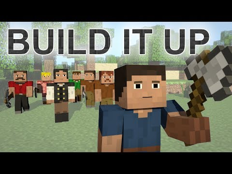 ♪ Build It Up - A Minecraft Parody Of Avicii's Wake Me Up video