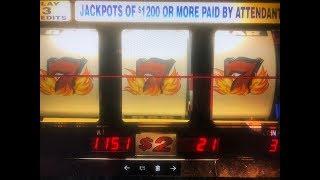 "JACKPOT/ HANDPAY Blazing 7's $2 Slot Max Bet $6 ?Red Alert & Gems Slot ""Barona Part 3"" Akafujislot"