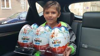 Huge Kinder Eggs - New Toys