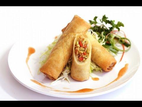 Veg Spring Rolls Recipe In Hindi - आसानी से घरपे बनाईये वेज स्प्रिंग रोल - Veg spring roll