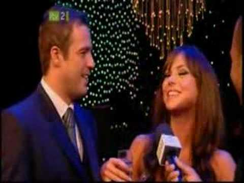 British Soap Awards Party - Jamie Lomas & Hannah Tointon Video