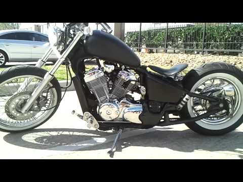 Vlx600 Bobber Walkaround Youtube