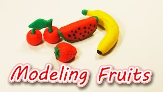 How to Make Fruits 🍌🍒 🍓 🍉  Modeling Clay for Kids | GiGaGa TV