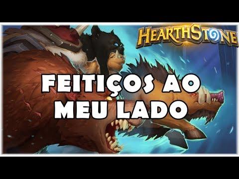 HEARTHSTONE - FEITIÇOS AO MEU LADO! (STANDARD SPELL HUNTER)