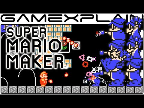 Super Mario Maker - Magikoopa Meltdown! (Direct Feed - SDCC)